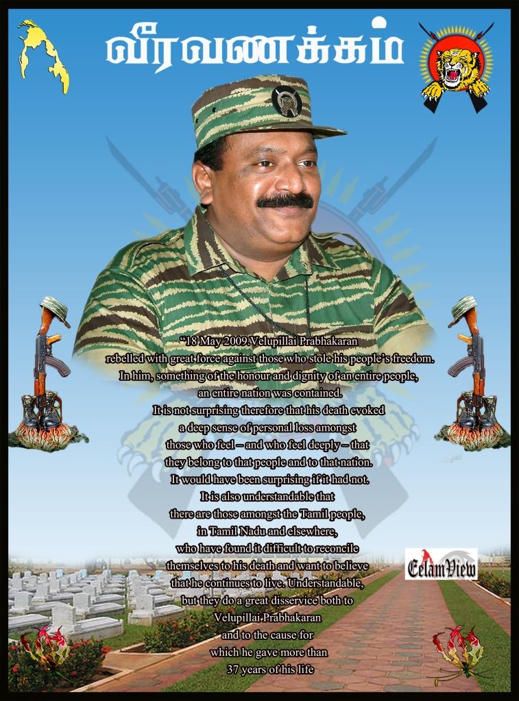 Tribute to Prabhakaran 1
