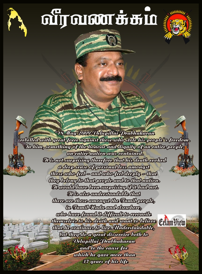 Tribute to Prabhakaran 4