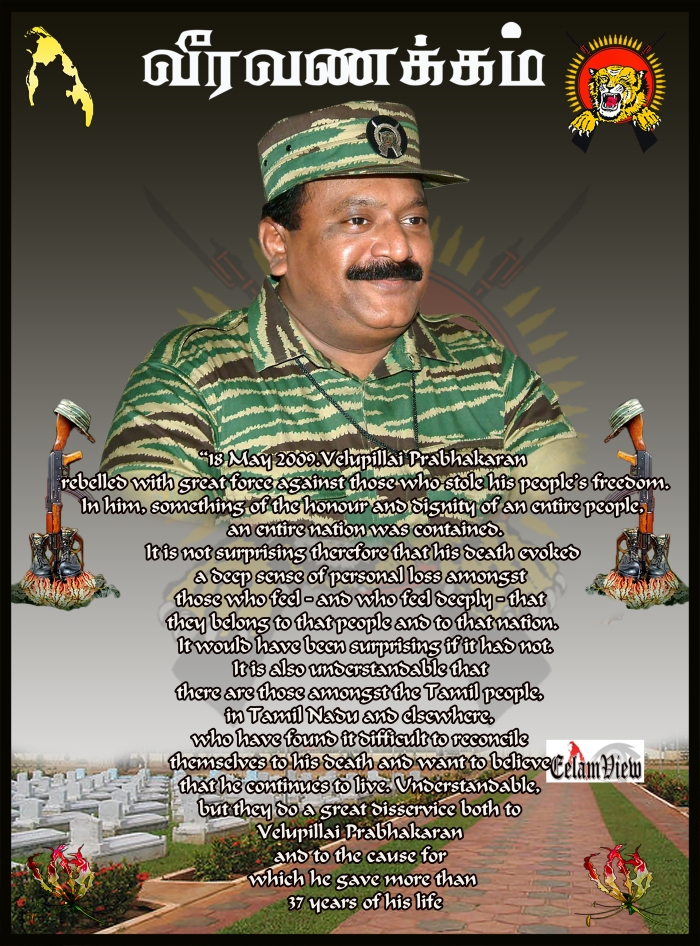 Tribute to Prabhakaran 5